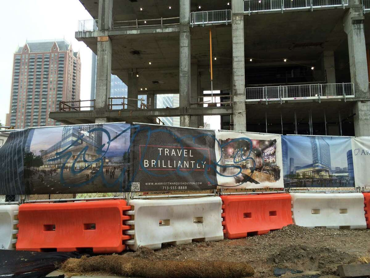A 1,000-room Marriott Marquis is being built near the George R. Brown Convention Center.
