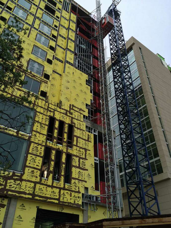A Hyatt Place and Hyatt Regency are being developed across Sage from the Galleria. Photo: Nancy Sarnoff