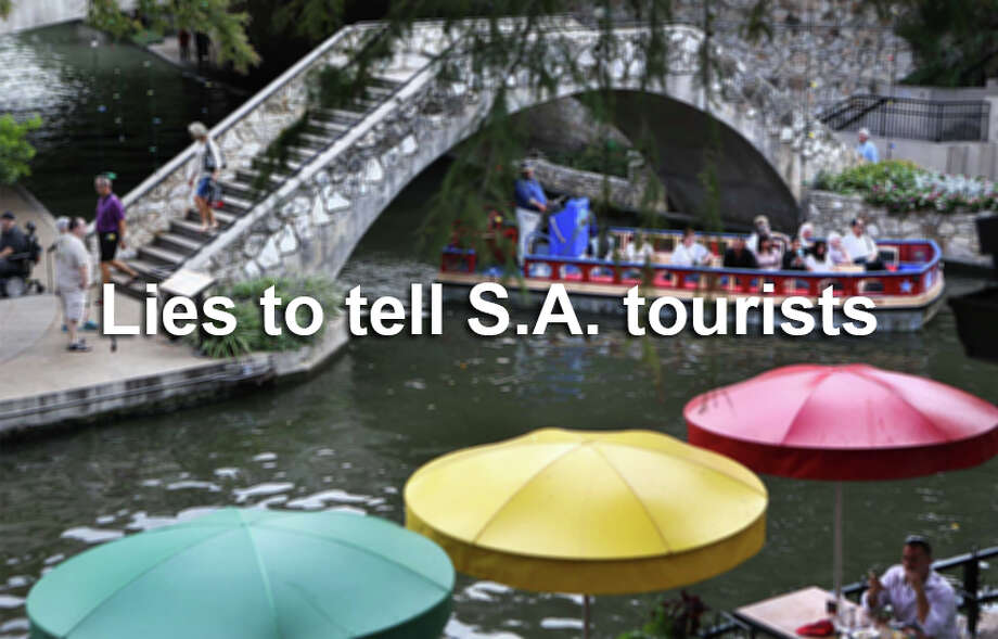 Here are a few fun suggestions if you, or someone you know, are visiting the Alamo City. Photo: BOB OWEN, SAEN / © 2014 San Antonio Express-News