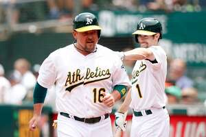 A's top Colorado; they're 36-45 at halfway point - Photo