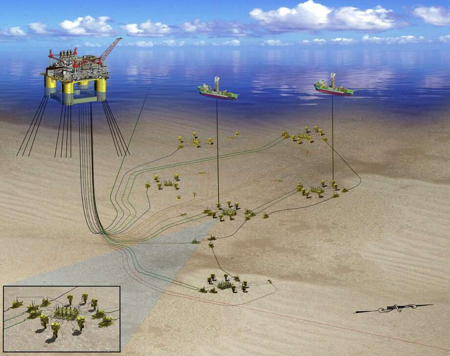 Shell's planned oil platform will focus on production from its Appomattox and Vicksburg discoveries in the deep-water Gulf of Mexico. Photo: Shell Oil Co.
