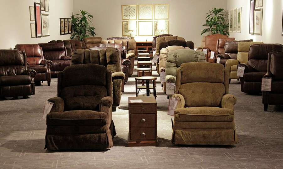 Recliners At The New Gallery Furniture Store On Grand