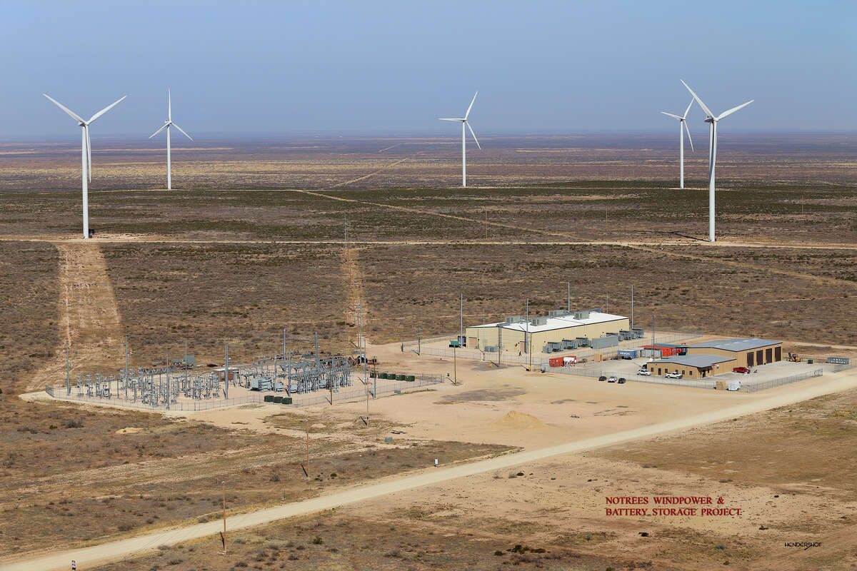 Duke Energy's Notrees Windpower Project, which has 95 turbines, generates enough electricity to power 46,000 houses.