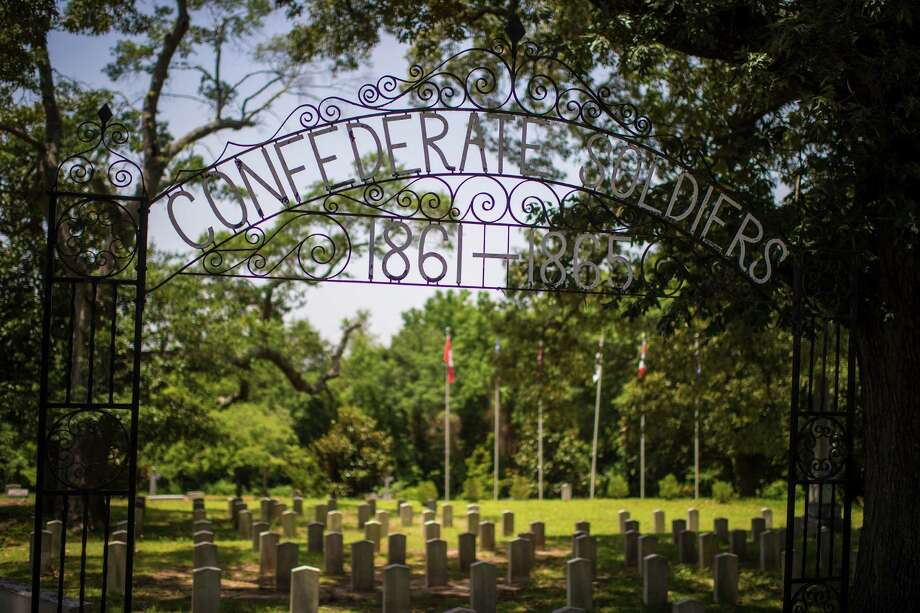 The entrance to a cemetery of Confederate dead at Elmwood Cemetery, Columbia, S.C., where Dylann Roof is thought to have visited. Photo: Jabin Botsford /Washington Post / THE WASHINGTON POST