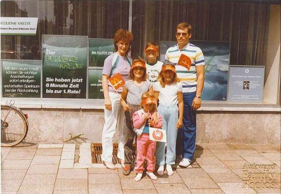 American pride in Germany. Photo: Awkward Family Photos