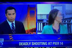 News crews robbed in S.F., camera operator pistol-whipped - Photo