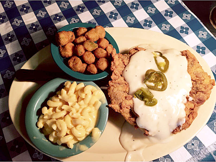 Radicke's Bluebonnet Grill was recently recognized as one of the  Top 10 Best Chicken Fried Steaks in Texas  – but they have much more to satisfy your appetite. On Wednesdays from 7-10 a.m. (inside only), they serve a full breakfast menu of favorites from omelets to pancakes to biscuits & gravy. Every day the drive-thru has breakfast tacos and sandwiches available from 7-10 a.m. The restaurant is open for lunch from 10:30 a.m. till 2:30 p.m. Home of the Jalapeno Fried Chicken, Radicke's will have you coming back for more. Visit us on Facebook:  Radickes Bluebonnet Grill. 237 N.W.W. White Rd. San Antonio, TX 78219 210-337-4007 Photo: Photos Courtesy Of Radicke's Bluebonnet Grill.