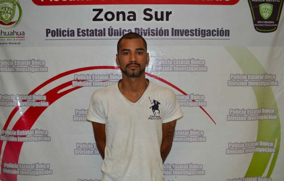 Chihuahua state police arrested Felipe Quintero Saavedra — allegedly the Sinaloa cartel's top hitman in the southern region of Chihuahua who is accused in more than 20 killings — after a gunfight at the man's safe house on June 26, 2015. Photo: Chihuahua State Attorney General's Office
