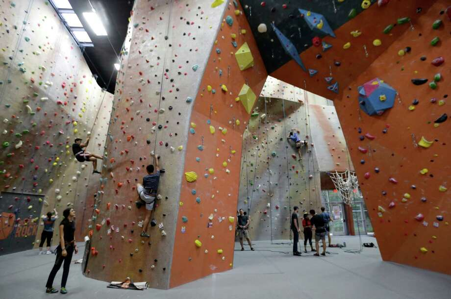 Momentum Indoor Climbing is opening in Katy. Photo: Melissa Phillip, Staff / © 2015  Houston Chronicle