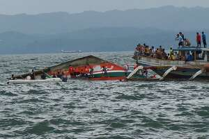 Ferry capsizes in Philippines; 38 dead, 15 missing - Photo