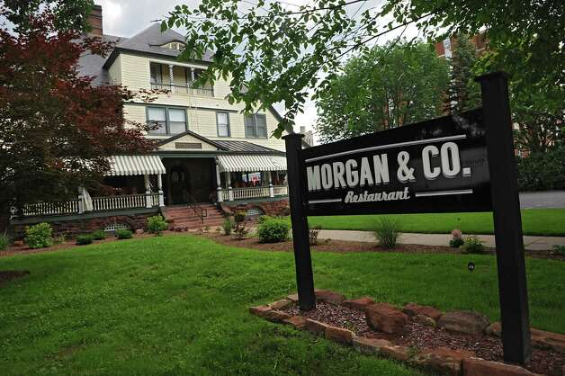 Exterior of Morgan & Co restaurant on Thursday, June 25, 2015 in Glens Falls, N.Y. (Lori Van Buren / Times Union) Photo: Lori Van Buren / 00032375A