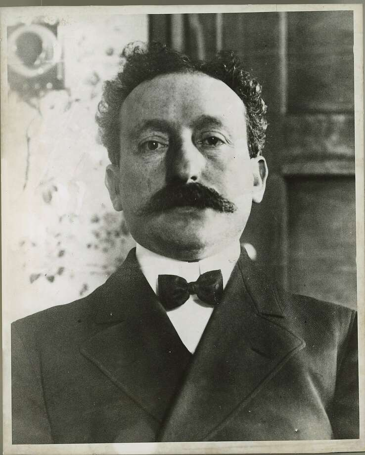 Abe Reuf, San Francisco political boss accused of corruption in 1906 Ran on: 10-08-2006 San Francisco political boss Abe Ruef was accused of corruption in 1906. Photo: Chronicle 1906