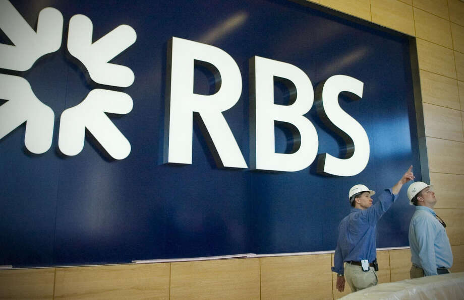 The Federal Housing Finance Agency suggested $13 billion as a potential penalty on RBS, accused of improperly inflating the value of mortgage-backed securities it sold leading up to the financial crisis. Kathleen O'Rourke/Staff photo Photo: KATHLEEN O'ROURKE / ST / 00009354A