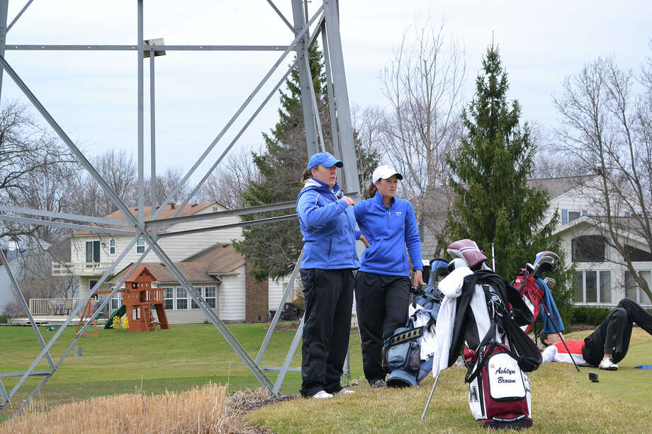 Jessica Steward, left, was announced Thursday as the new head women's golf coach at Lamar University. Photo: Submitted Photo