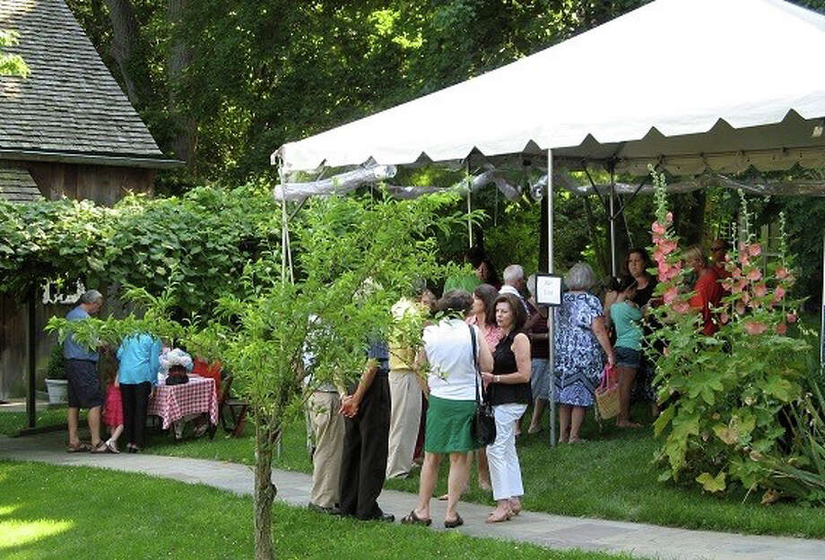 The first Festa Al Fresco 2013, above, launched a new tradition at the Greenwich Historical Society, which again is hosting an evening of outdoor dining inspired by Italian cuisine on Sunday, July 12, at the Bush-Holley Historic Site. Photo: Contributed Photo / Stamford Advocate Contributed