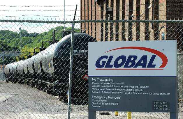 Global Partners in the Port of Albany on Wednesday July 30, 2014 in Albany, N.Y. (Michael P. Farrell/Times Union)