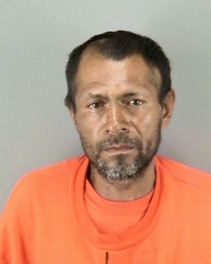 Francisco Sanchez, 45, was arrested on suspicion on murder in the Wednesday killing of 32-year-old Kate Steinle on San Francisco's Pier 14. Photo: SFPD