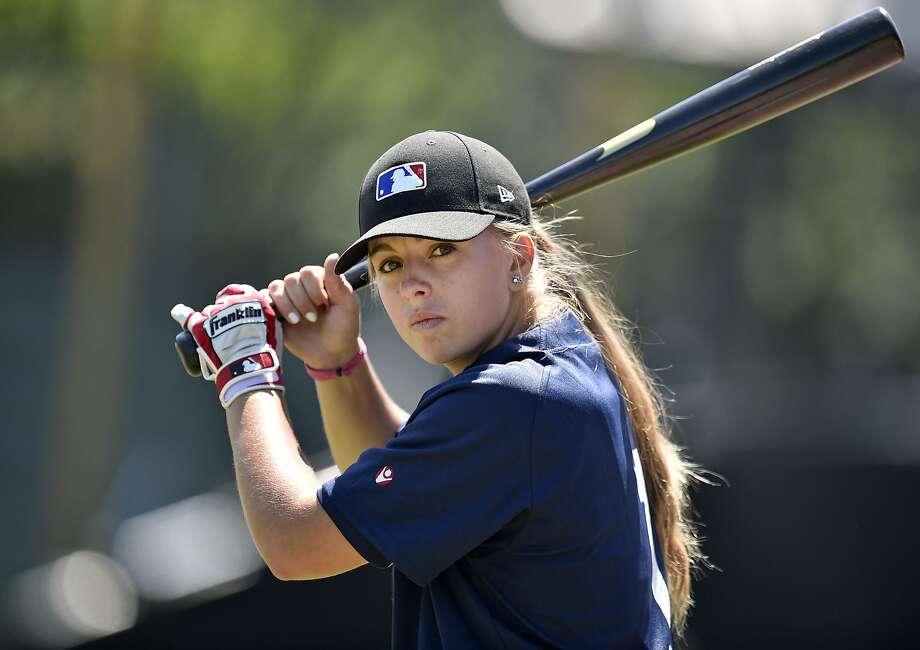French teen makes baseball history as 1st female prospect