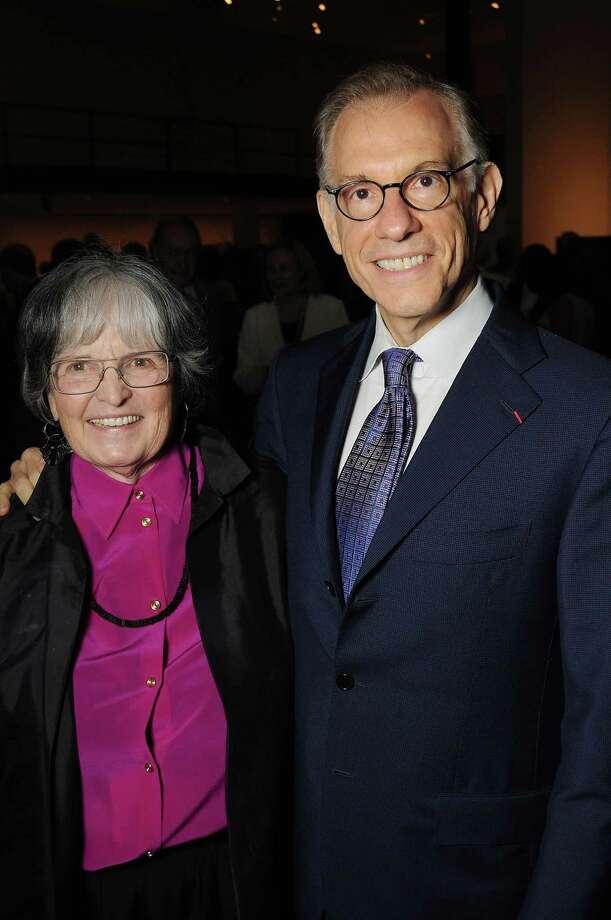 Anne Wilkes Tucker and Gary Tinterow Photo: Dave Rossman, Freelance / Freelalnce