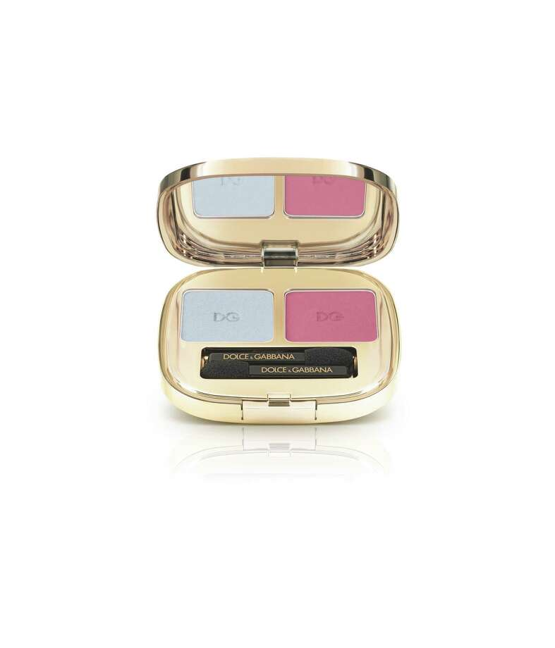 Smooth Eye Colour Duo in Summer Hue 104 from Dolce & Gabbana's Summer Shine Collection. Photo: Dolce & Gabbana / Tag creatve