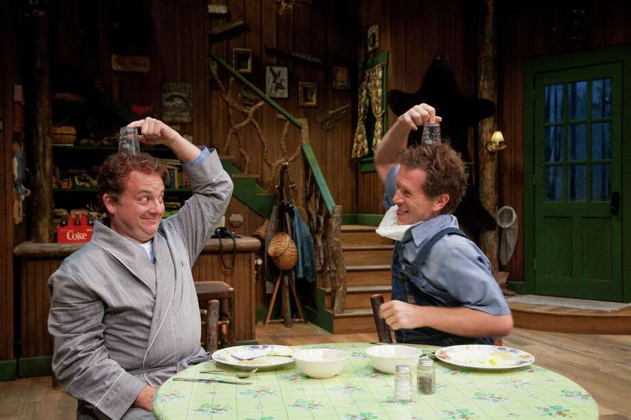 """Jeffrey Bean, left, and Jeremy Webb star in """"The Foreigner."""" Photo: John Everett / John Everett"""