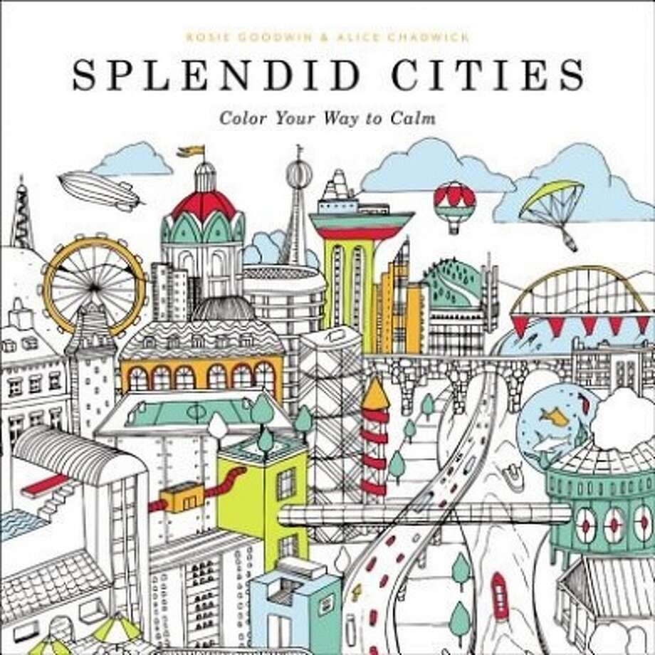 """""""Splendid Cities: Color Your Way to Calm"""""""
