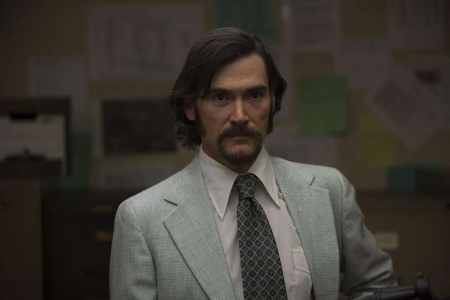 Billy Crudup (Dr. Philip Zimbardo)  in Kyle Alvarez's THE STANFORD PRISON EXPERIMENT. Courtesy of Steve Dietl. Copyright STANFORD PRISON, LLC.  An IFC Films Release. Photo: IFC Films