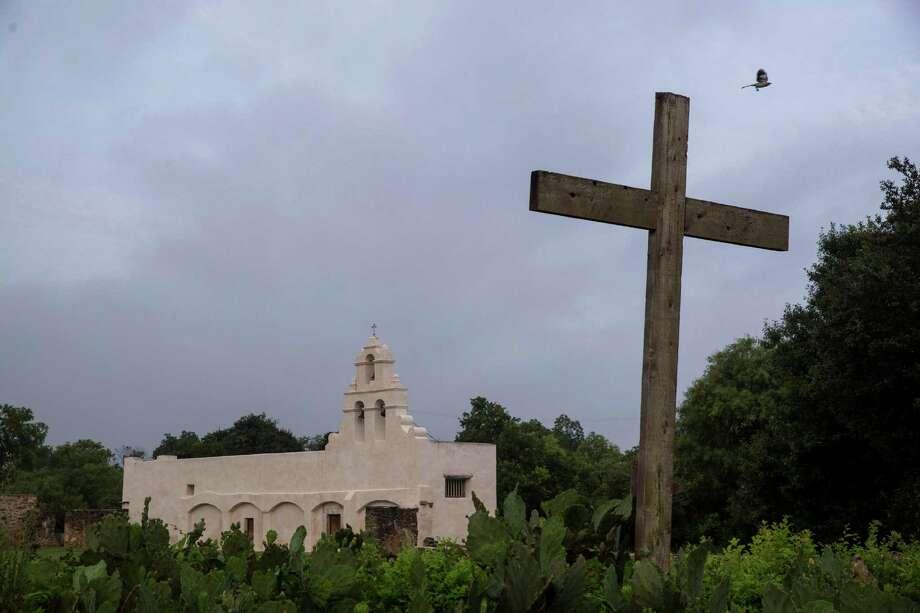 Mission San Juan Capistrano in San Antonio, Texas. Ray Whitehouse / San Antonio Express-News Photo: Ray Whitehouse, Staff / San Antonio Express-News / 2015 San Antonio Express-News