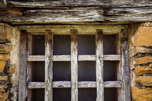 An old window frame remains at Mission San Juan Capistrano in San Antonio, Texas. Ray Whitehouse / San Antonio Express-News Photo: Ray Whitehouse, Staff / San Antonio Express-News / 2015 San Antonio Express-News