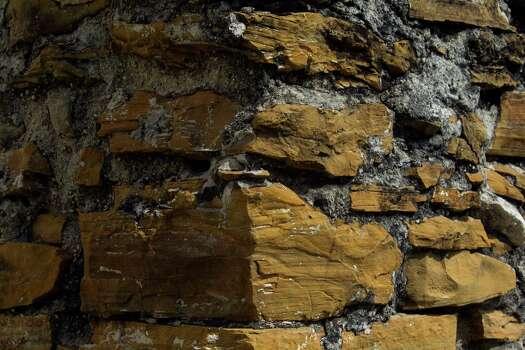 Bricks at Mission San Juan Capistrano in San Antonio, Texas. Ray Whitehouse / San Antonio Express-News Photo: Ray Whitehouse, Staff / San Antonio Express-News / 2015 San Antonio Express-News