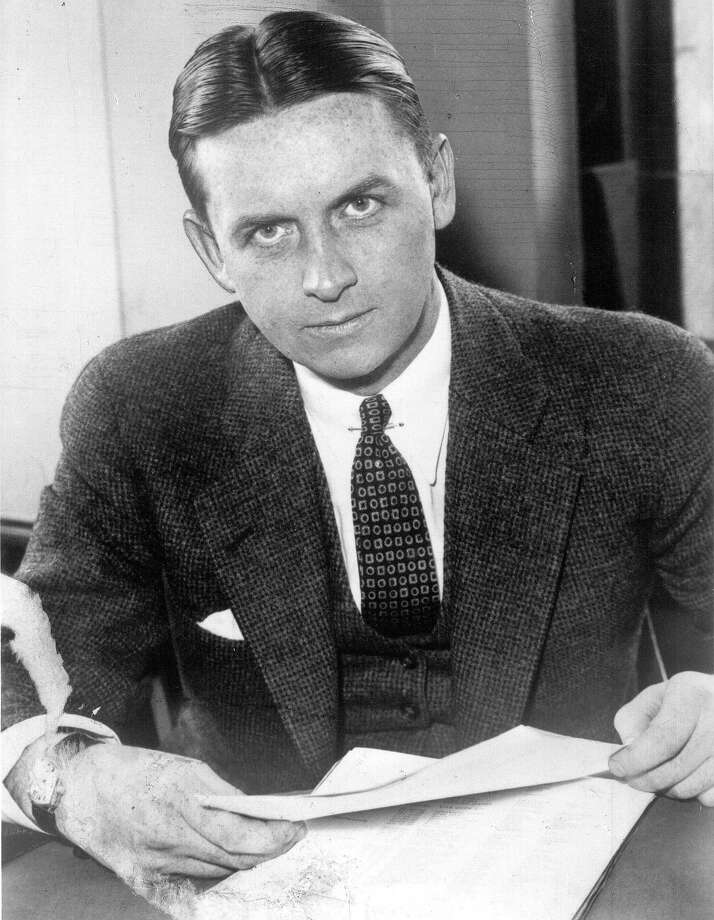 """FILE - This undated file photo provided by The Plain Dealer shows Eliot Ness in Cleveland. Ness, the famed Prohibition agent who led the """"Untouchables"""" in their crusade against Chicago gangster Al Capone's liquor bootlegging rackets, later became the top executive at bank services company Diebold Inc. Part of his compensation appears to have been company stock that recently surfaced in Florida, sparking a new legal fight between the company and the Ness estate. (The Plain Dealer via AP, File) Photo: Uncredited, MBO / The Plain Dealer"""