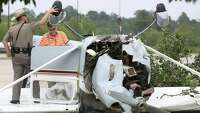 Pilot walks away from plane crash in Shenandoah - Photo