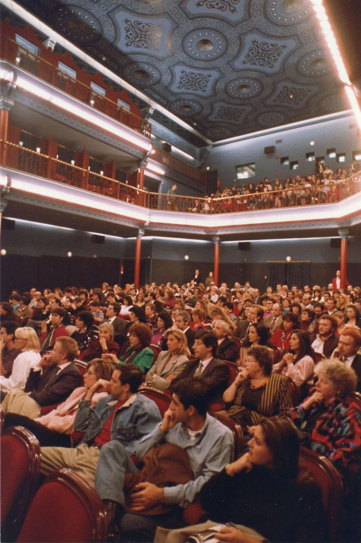 In 1992, the San Francisco Jewish Film Festival takes its show on the road to Madrid Photo by Richard Bermack