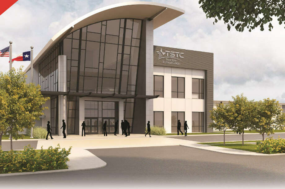Texas State Technical College says its new Rosenberg campus, which recently broke ground at 5500 Avenue North, is the start of a three-part building plan. Photo: Texas Tech
