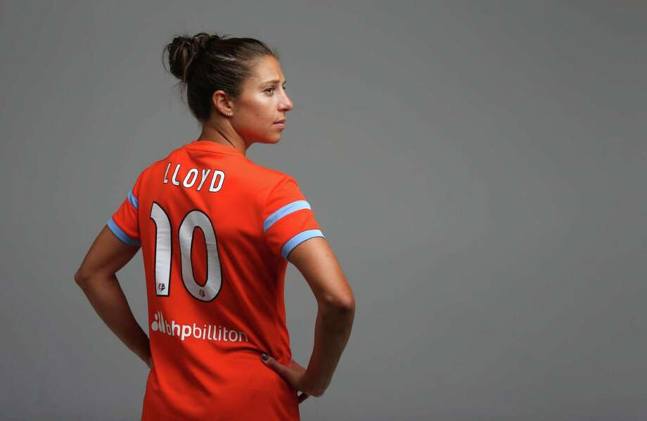 Carli Lloyd can create her own legacy with a win today, just like Brandi Chastain, Joy Fawcett, Julie Foudy, Mia Hamm and Briana Scurry (above) did in 1999. Photo: Mayra Beltran, Staff / © 2015 Houston Chronicle