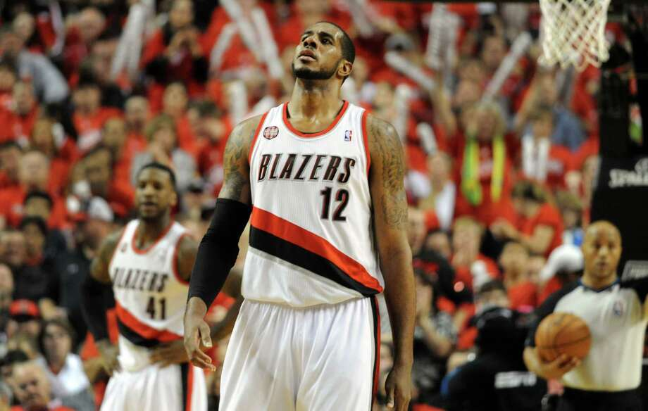 Free-agent LaMarcus Aldridge agreed to sign a four-year, $84 million contract with the San Antonio Spurs, July 4, 2015. Photo: Steve Dykes / / 2014 Getty Images