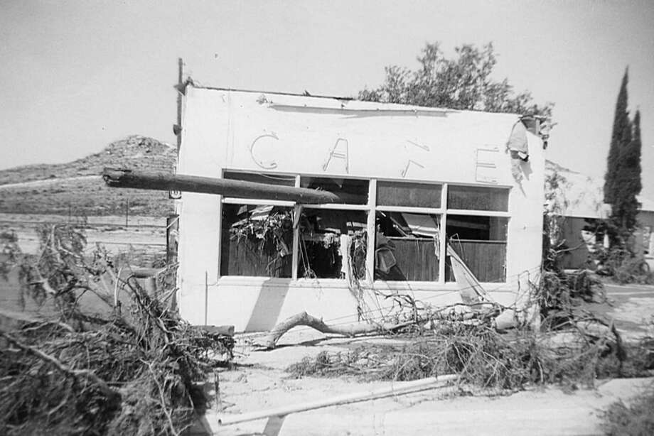 The Sanderson flood of June 11, 1965, claimed 26 lives and destroyed 75 houses. Five decades later, the community is remembering the tragedy on July 4th. Photo: Courtesy