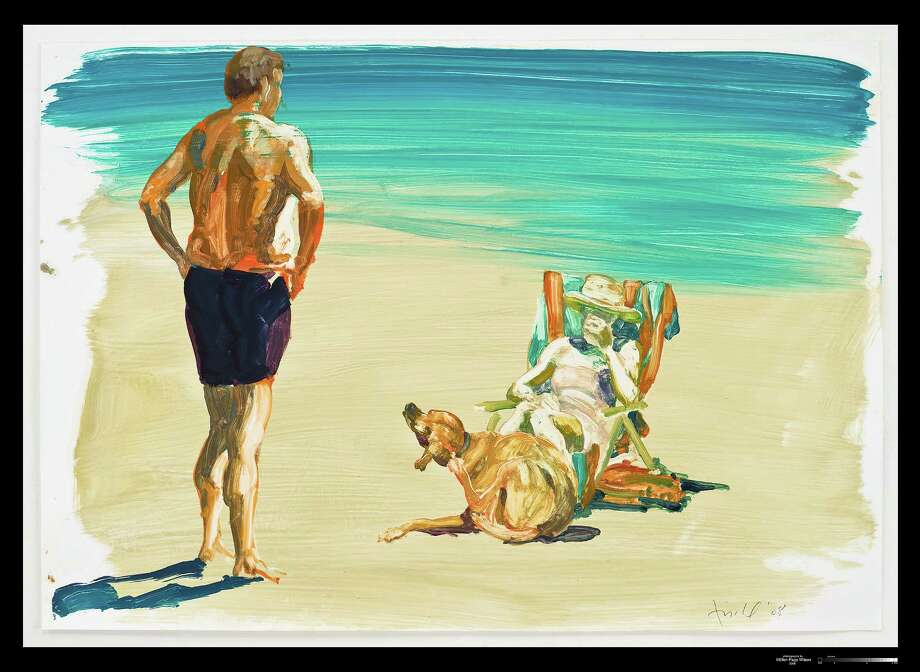 An untitled painting by Eric Fischl will be featured in an exhibition of his work at the Westport Arts Center. Photo: Contributed Photo / Contributed Photo / Westport News