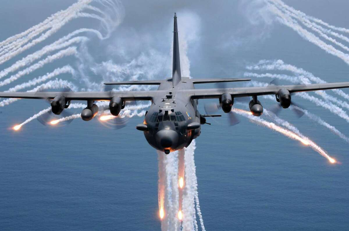 AC-130 Spectre Air ForceGround-attack gunship Lockheed Martin and Boeing Nickname: Puff the Magic Dragon