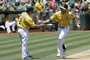 A's detoured on winding road to .500, lose 2-1 - Photo