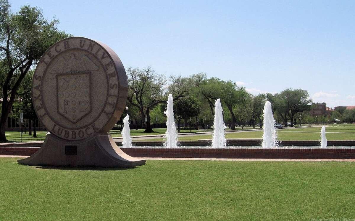 9. Texas Tech University Lubbock, Texas