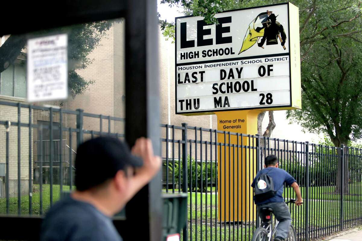 Lee High School, formerly Robert E. Lee High School, 6529 Beverly Hill St. Friday, July 3, 2015, in Houston, Texas. The school mascot is the Generals. ( Gary Coronado / Houston Chronicle )