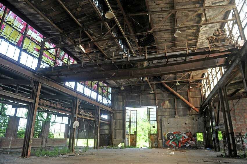 Interior of the former Scolite building on Friday July 3, 2015 in Troy, N.Y. (Michael P. Farrell/Times Union)