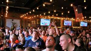 Were you Seen watching the USA-Japan Women's World Cup championship match at Wolff's Biergarten in Albany on Sunday, July 5, 2015?
