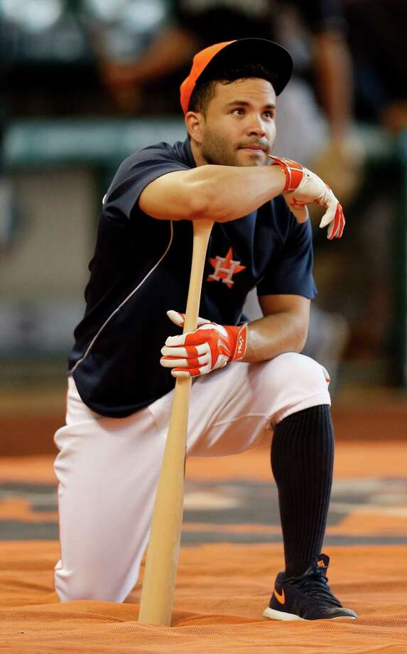 Jose Altuve will make his third All-Star appearance and first start in his fourth full major league season. Photo: Karen Warren, Staff / © 2015 Houston Chronicle