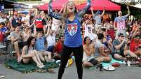 Seleya Tanner and other U.S. soccer fans attending a Sunday watch party at The Phoenix on Westheimer had every reason to party like it was 1999 as the American team won the Women's World Cup for the first time in 16 years.