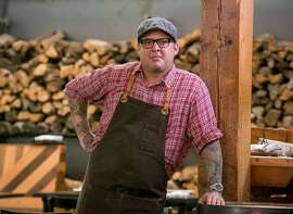 Chef Jason Turley of Parlour in Oakland, Calif., is seen on June 26th, 2015.