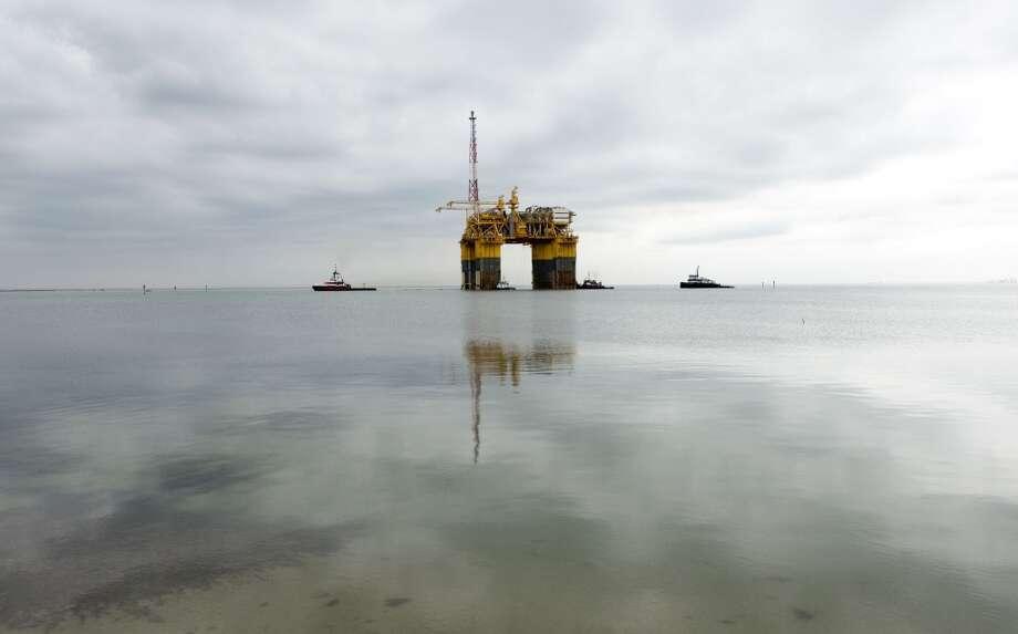 Independence (Anadarko) Depth: 8,000 feet Photo: EDDIE SEAL, BLOOMBERG NEWS