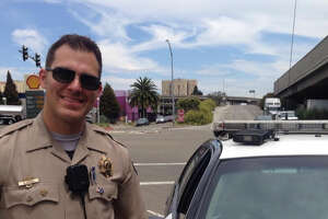 CHP 'busts' a cute freeway jaywalker (photo) - Photo