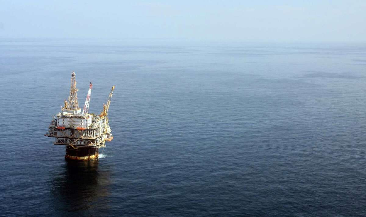 A Gulf of Mexico well is shown in this 2008 file photo. (AP Photo/Mary Altaffer, File)